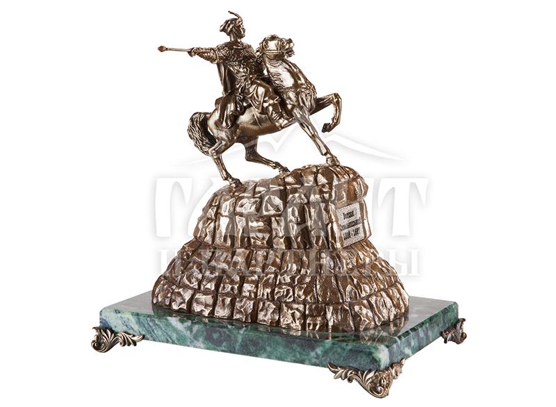 Статуэтка из бронзы Богдан Хмельницкий
